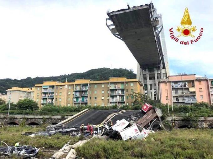 Genova, crollo viadotto Morandi: le vittime sono 39, si continua a scavare