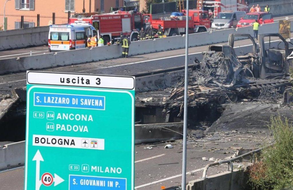 Bologna, riaperto il raccordo autostradale di Casalecchio