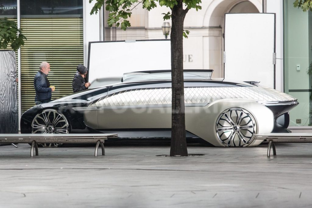 Renault - Nuovo concept - Foto spia