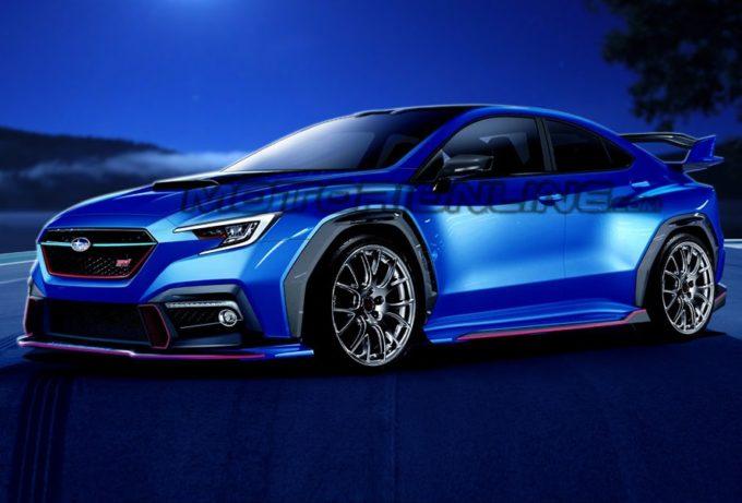 Subaru WRX STI: ipotesi stilistica per il nuovo modello [RENDERING]