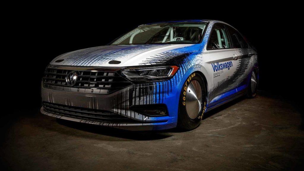 Volkswagen Jetta Bonneville: speciale versione da corsa con 500 CV