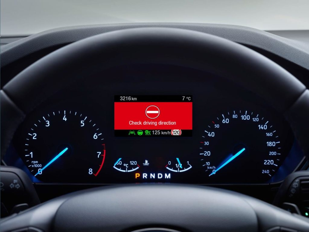 Ford Focus: disponibile il Wrong Way Alert [VIDEO]