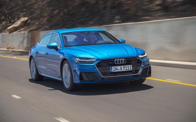 Audi A7 Sportback: si completa la gamma mild-hybrid