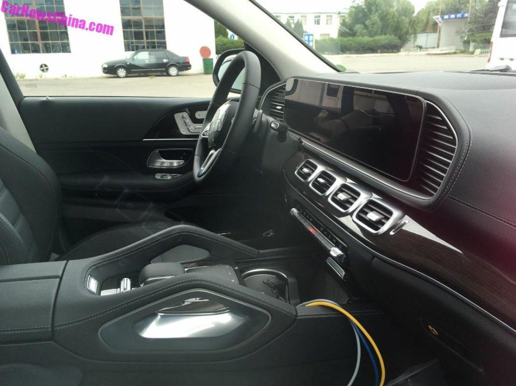 Mercedes GLE: completamente svelato l'abitacolo del nuovo modello