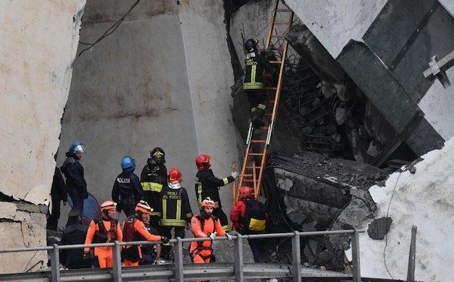 Genova, crollo ponte Morandi: aumentano le vittime, viabilità sempre difficile