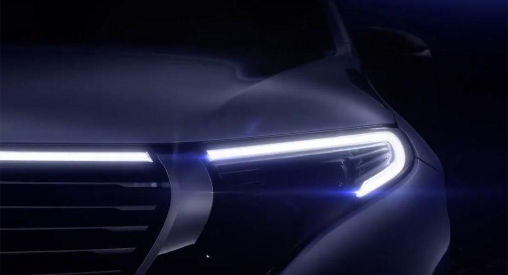 Mercedes EQC: la presentazione del nuovo SUV elettrico [LIVE STREAMING]