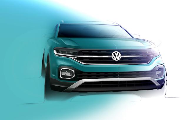 Volkswagen T-Cross: sul mercato dalla primavera 2019 [VIDEO TEASER]