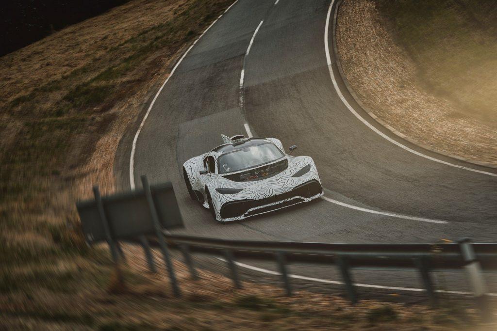 Mercedes-AMG Project One: sviluppo su strada per l'hypercar da Formula 1 della Stella [FOTO SPIA]