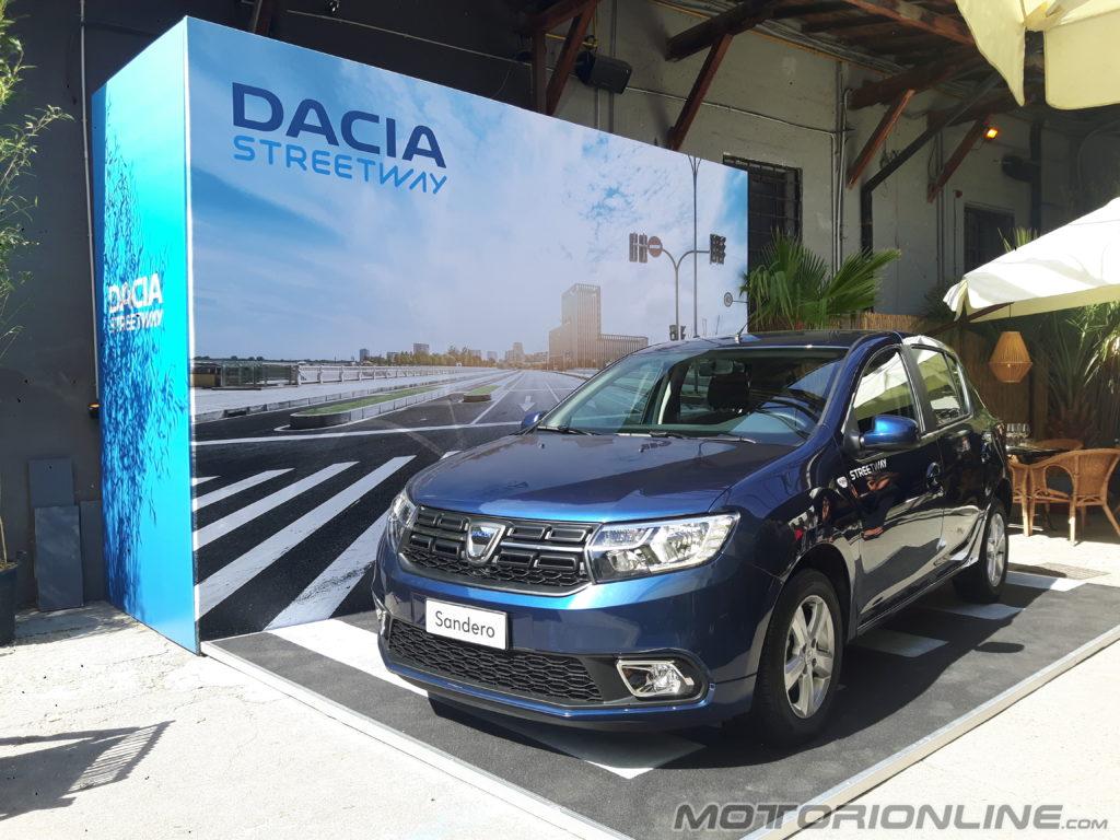 Dacia Sandero Streetway: una nuova gamma dedicata a chi cerca praticità e comfort [VIDEO INTERVISTA]