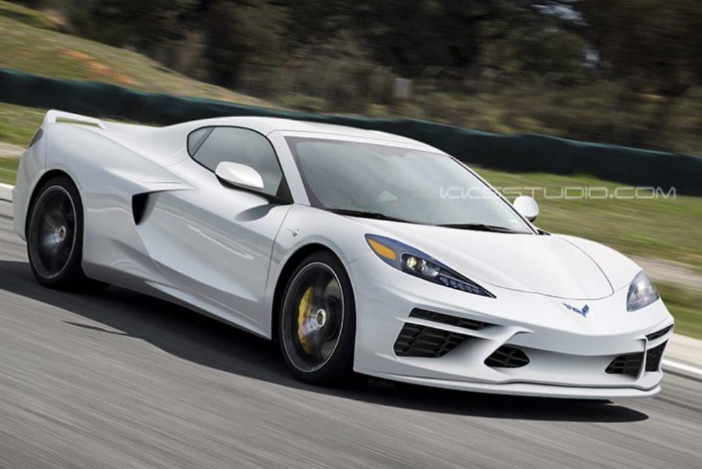 Chevrolet Corvette C8: la nuova supercar americana sarà così? [RENDERING]