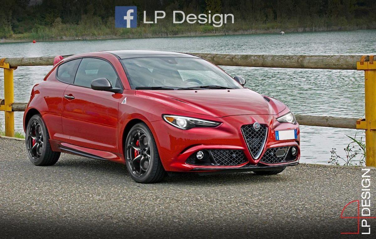 Alfa Romeo Mito Quadrifoglio Idea Di Hatchback Del Biscione Rendering