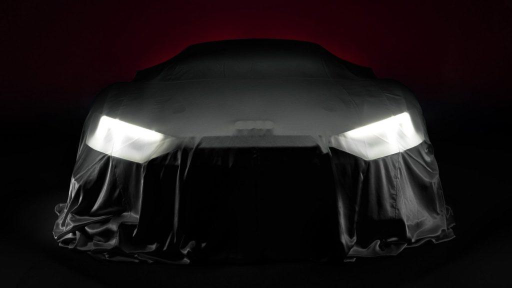 Audi R8, versione misteriosa in arrivo al Salone di Parigi [TEASER]