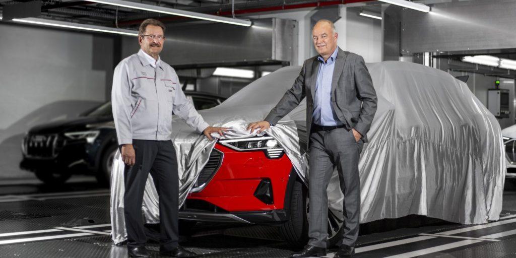 Audi e-tron: produzione già iniziata, la presentazione il 17 settembre