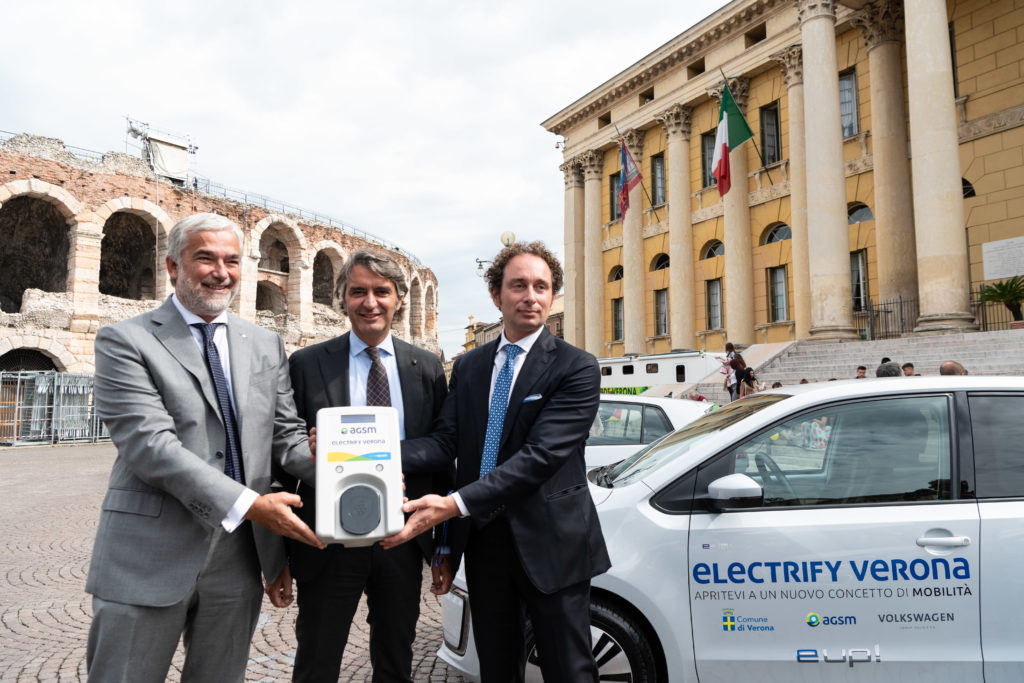 Electrify Verona: al via il progetto di Volkswagen per promuovere la mobilità a zero emissioni