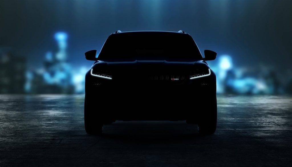 Skoda Kodiaq RS: il SUV più potente e veloce si comincia a scoprire [VIDEO TEASER]