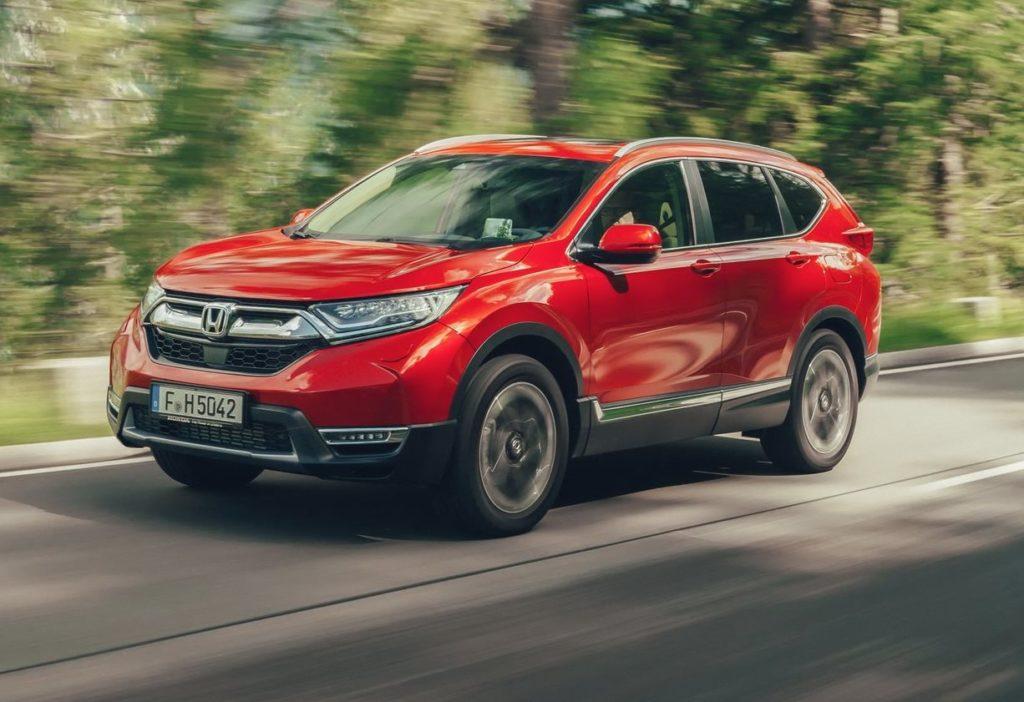 Honda CR-V, arriva la versione con motore ibrido