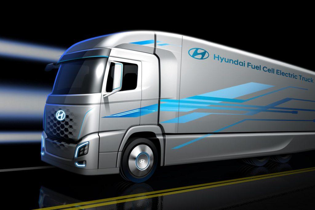 Hyundai Semi Fuel Cell, in arrivo il nuovo camion a idrogeno [TEASER]
