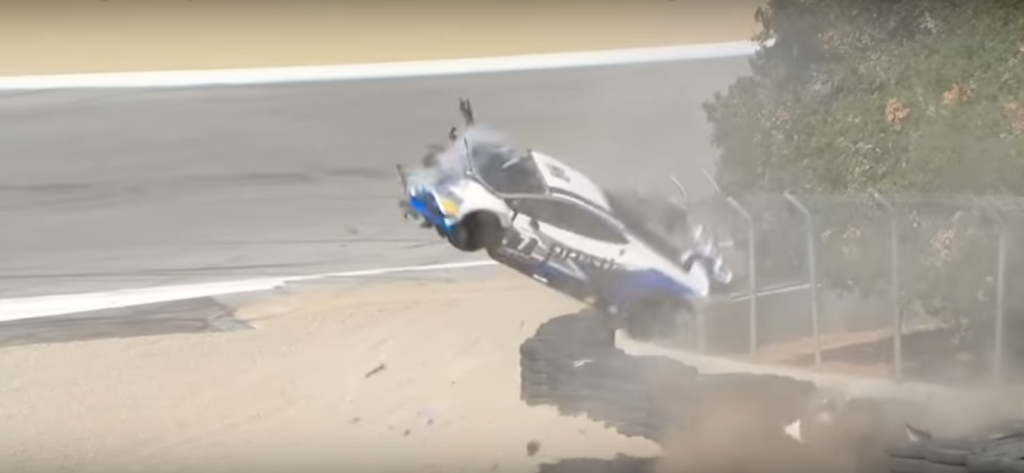 Lamborghini Super Trofeo 2018: violento incidente a Laguna Seca per Sheena Monk [VIDEO]