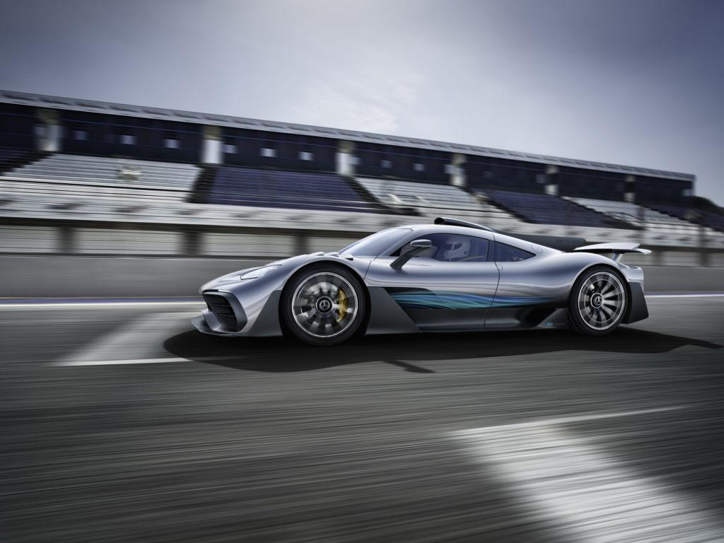 Mercedes-AMG ONE: è questo il nome ufficiale dell'hypercar della Stella