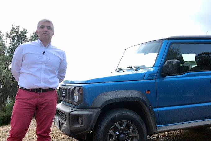 Nuovo Suzuki Jimny, parola a Mirko Dall'Agnola [VIDEO INTERVISTA]