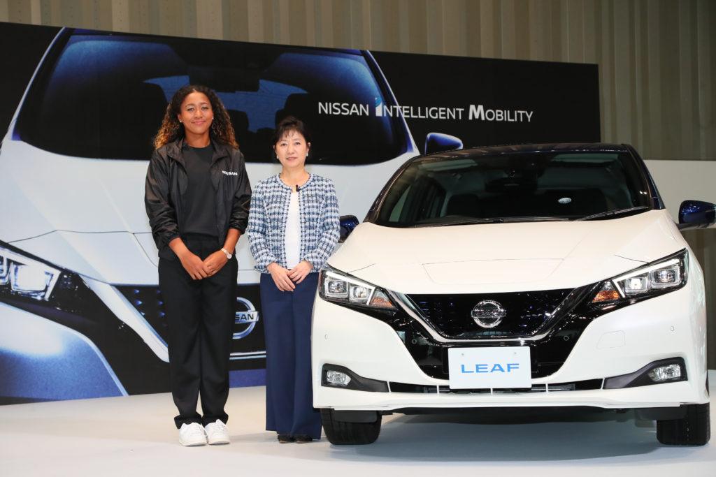 Nissan: Naomi Osaka, vincitrice su Serena Williams, è la nuova ambasciatrice del marchio