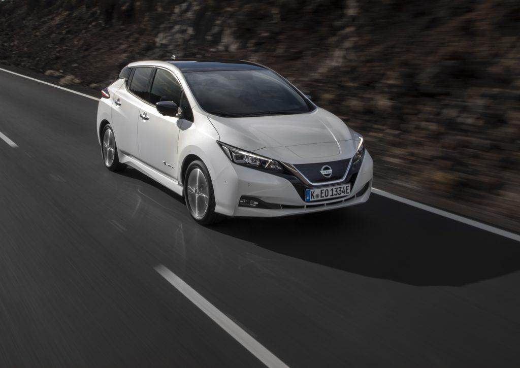 Nissan Leaf, un anno di successi in Europa