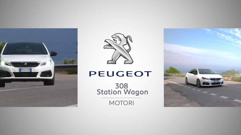 Peugeot 308 SW: focus sui motori [VIDEO]
