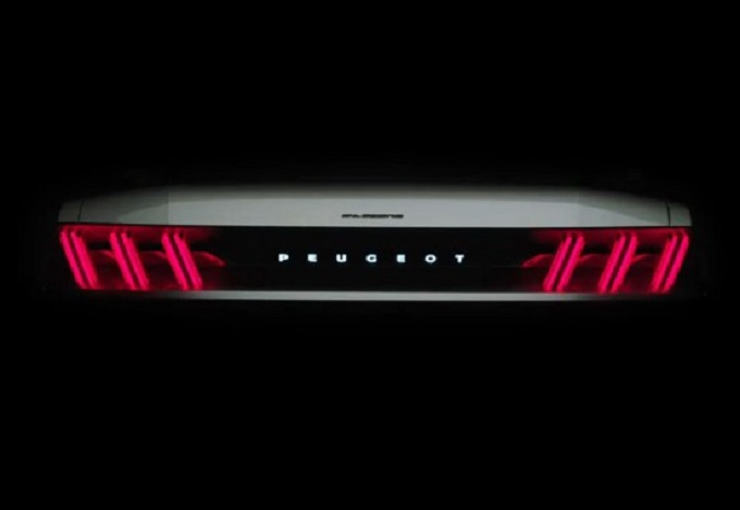 Peugeot mostra nuovi dettagli del concept per il Salone di Parigi [TEASER]