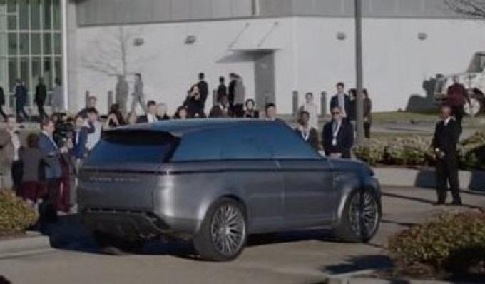 """Range Rover Sport, una futuristica versione appare nella serie tv """"The First"""""""