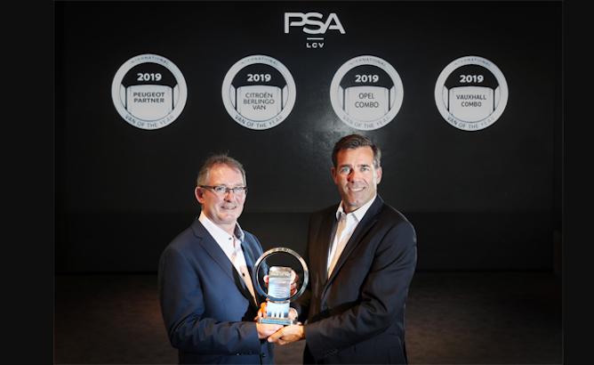 Gruppo PSA: i veicoli commerciali leggeri sono 'Van of the Year 2019'