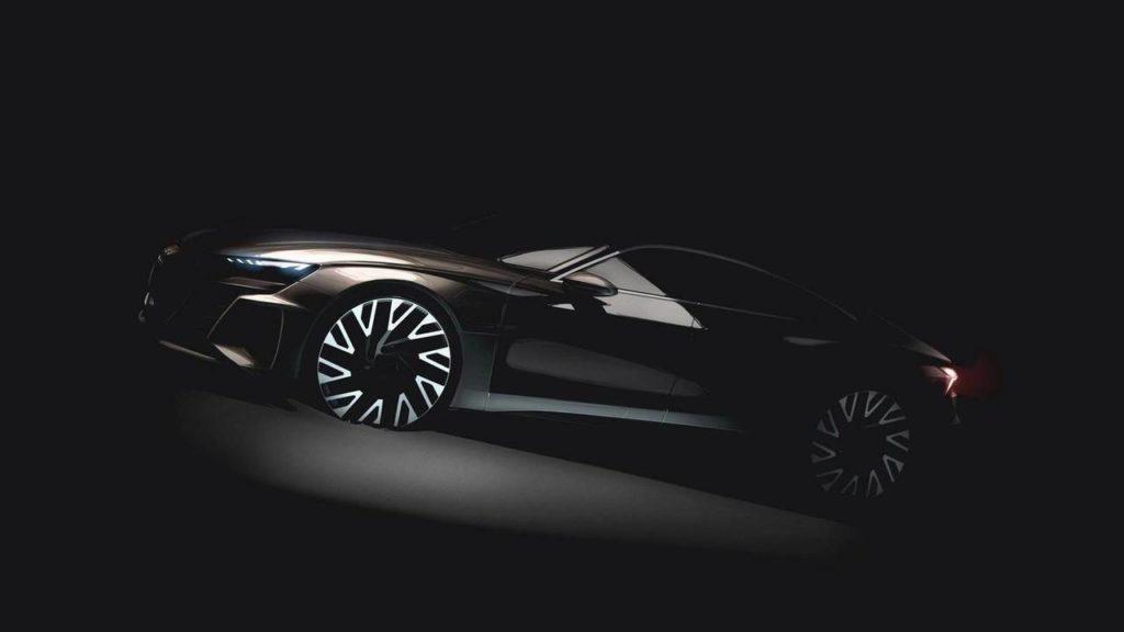 Audi e-tron GT, il concept debutterà al Salone di Los Angeles 2018 [TEASER]