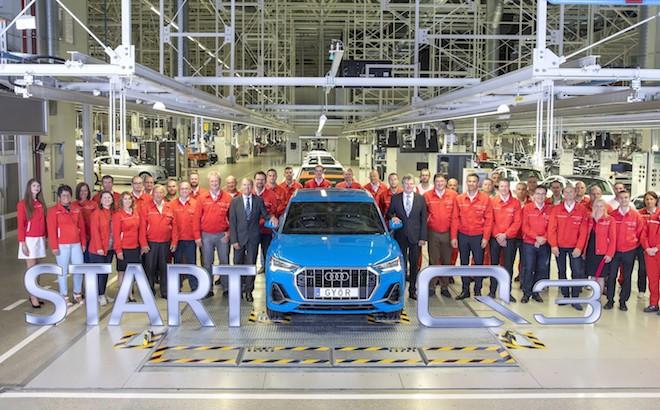 Audi Q3: iniziata la produzione della seconda generazione