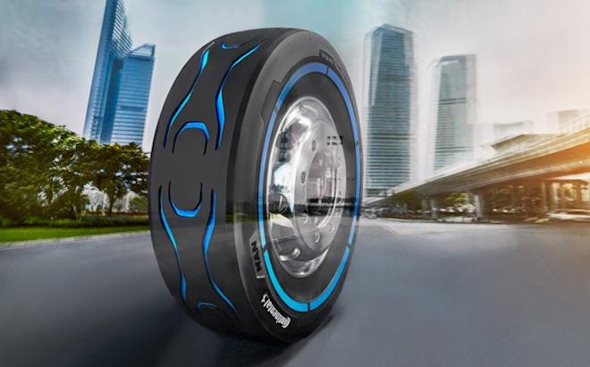 Conti e.MotionPro: il pneumatico per camion elettrici