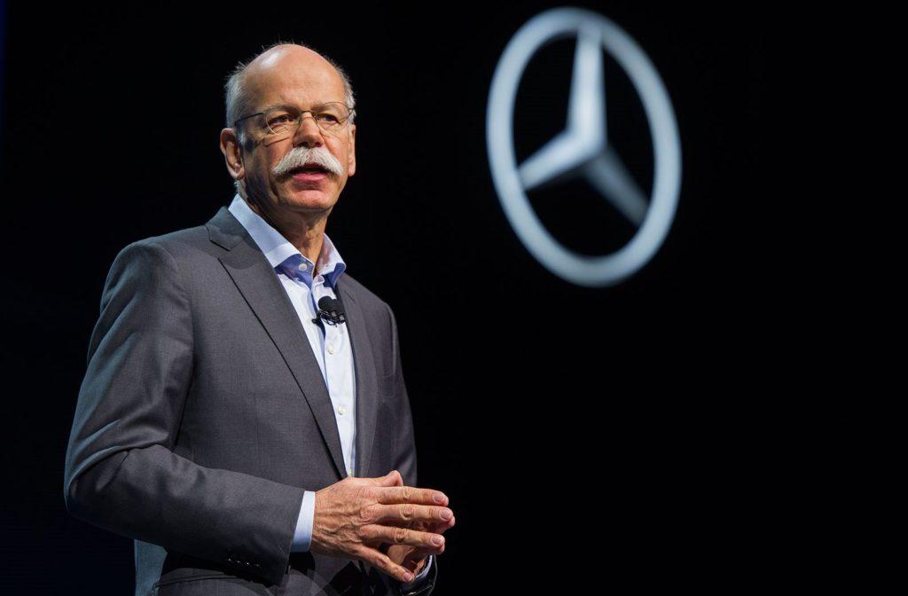 Daimler, cambio al vertice: dal 2019 Dieter Zetsche non sarà più amministratore delegato