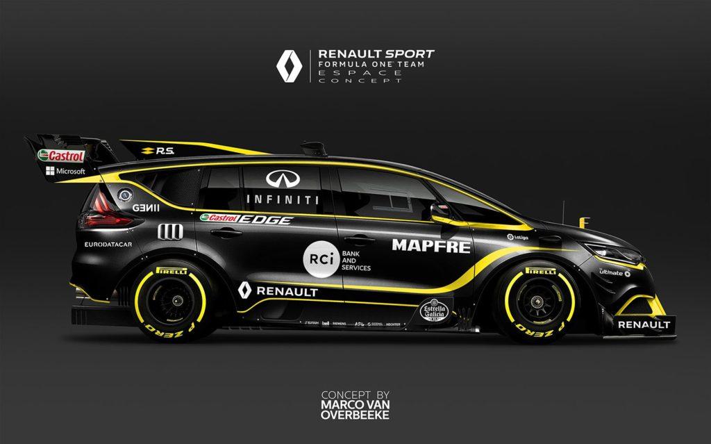 Renault Espace F1: una monovolume da corsa [RENDERING]