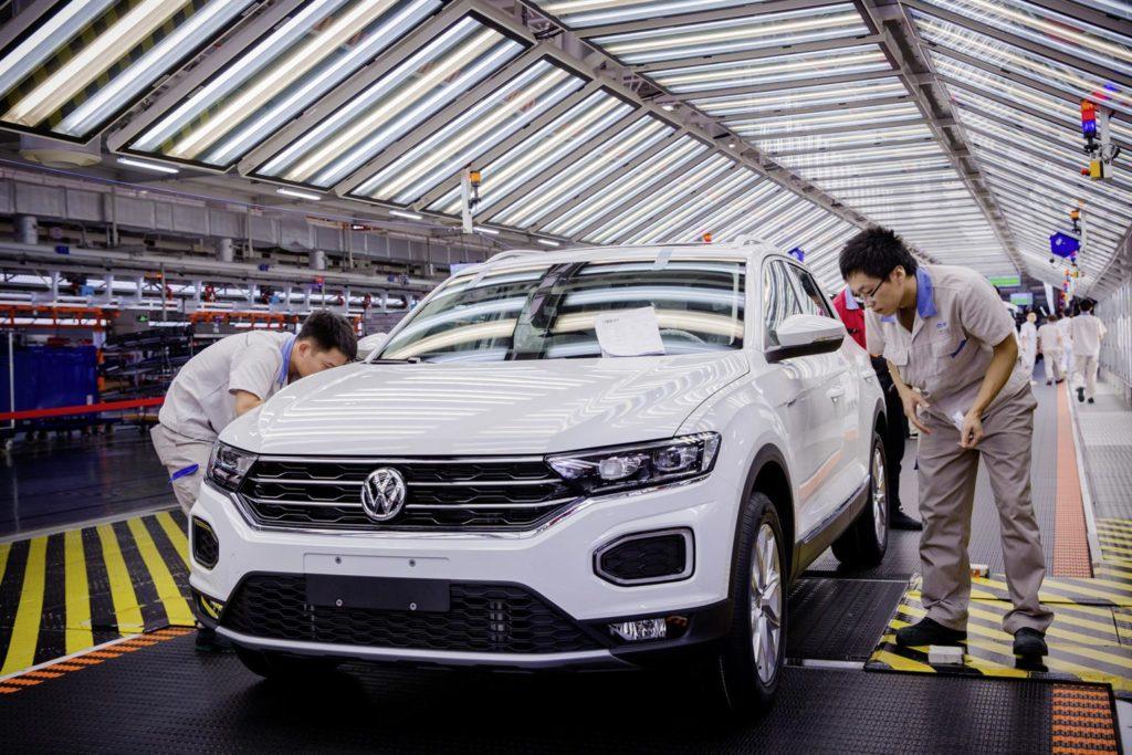Volkswagen: aperti quattro nuovi stabilimenti di produzione in Cina