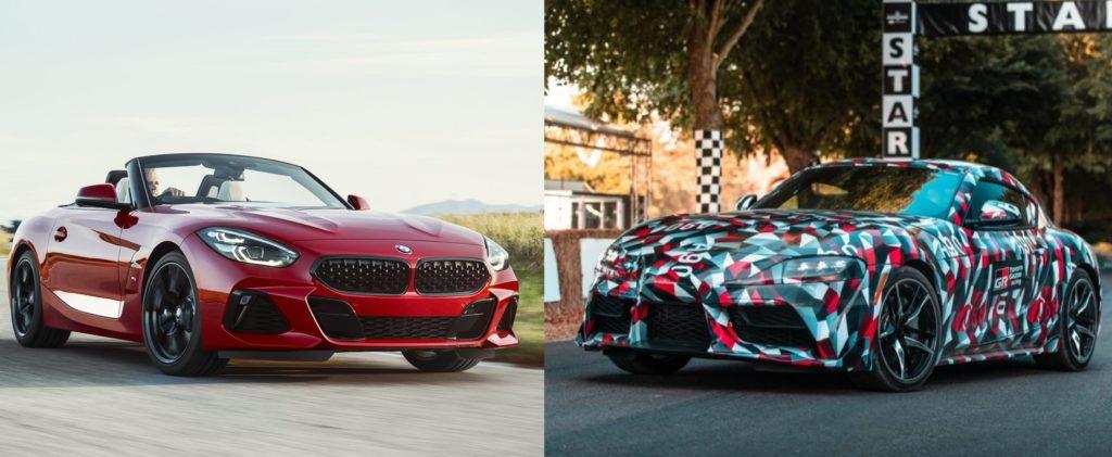 BMW Z4 e Toyota Supra: separate alla nascita?