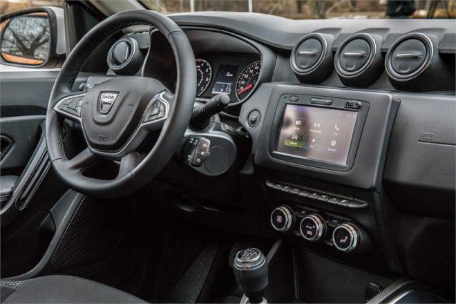 Dacia duster a parigi debutta il nuovo motore 1 3 tce fap for Duster interni