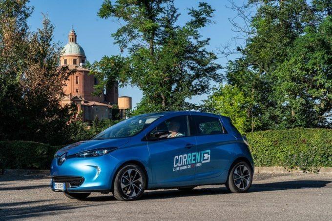"""Renault: presentato """"Corrente"""", il car sharing elettrico per la città di Bologna"""