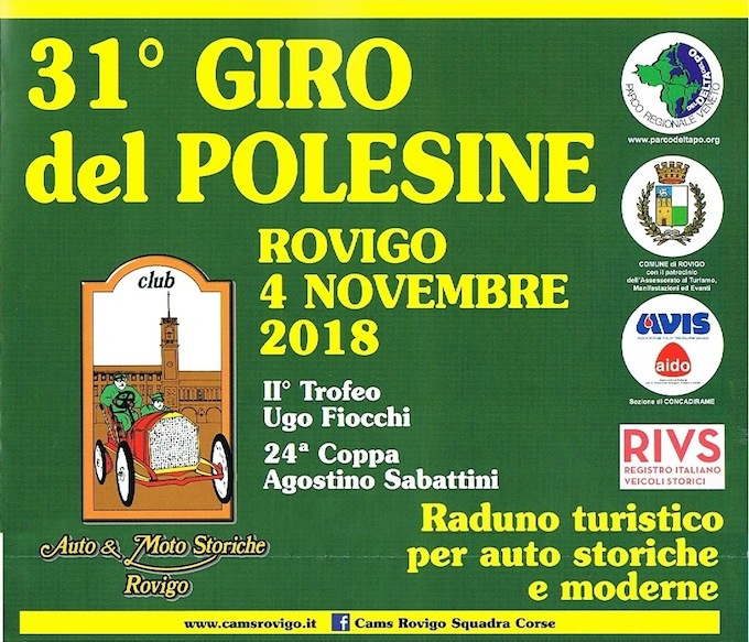 Giro del Polesine (Raduno): Rovigo 4 Novembre 2018