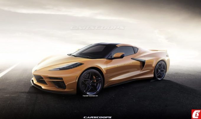 Chevrolet Corvette C8: la nuova generazione potrebbe essere così [RENDERING]