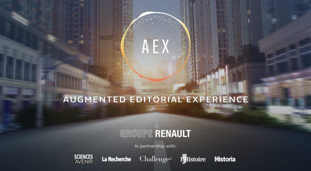 Il Gruppo Renault ha svelato il concept AEX per reinventare il tempo trascorso a bordo dei futuri veicoli a guida autonoma