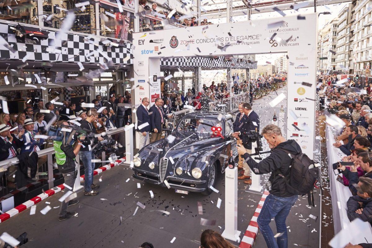 """Alfa Romeo 6C 2500 SS Coupé del 1948 firmata Touring Superleggera: """"Best of show"""" al Concours d'Elégance dello Zoute Grand Prix 2018"""