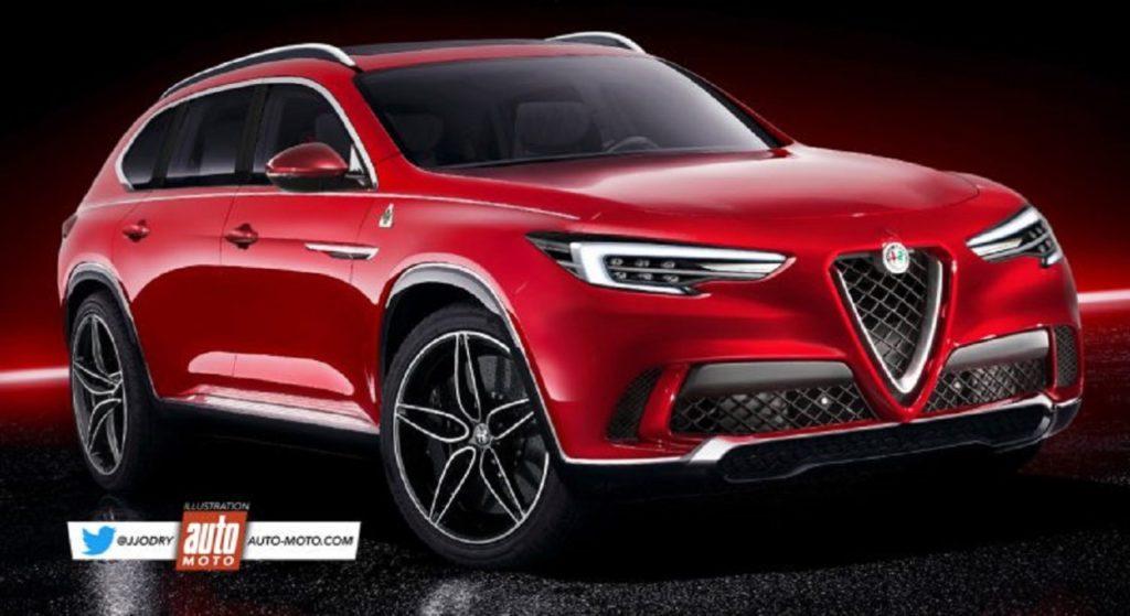 Alfa Romeo Castello: potrebbe essere proprio questo il nome del SUV più grande? [RENDERING]