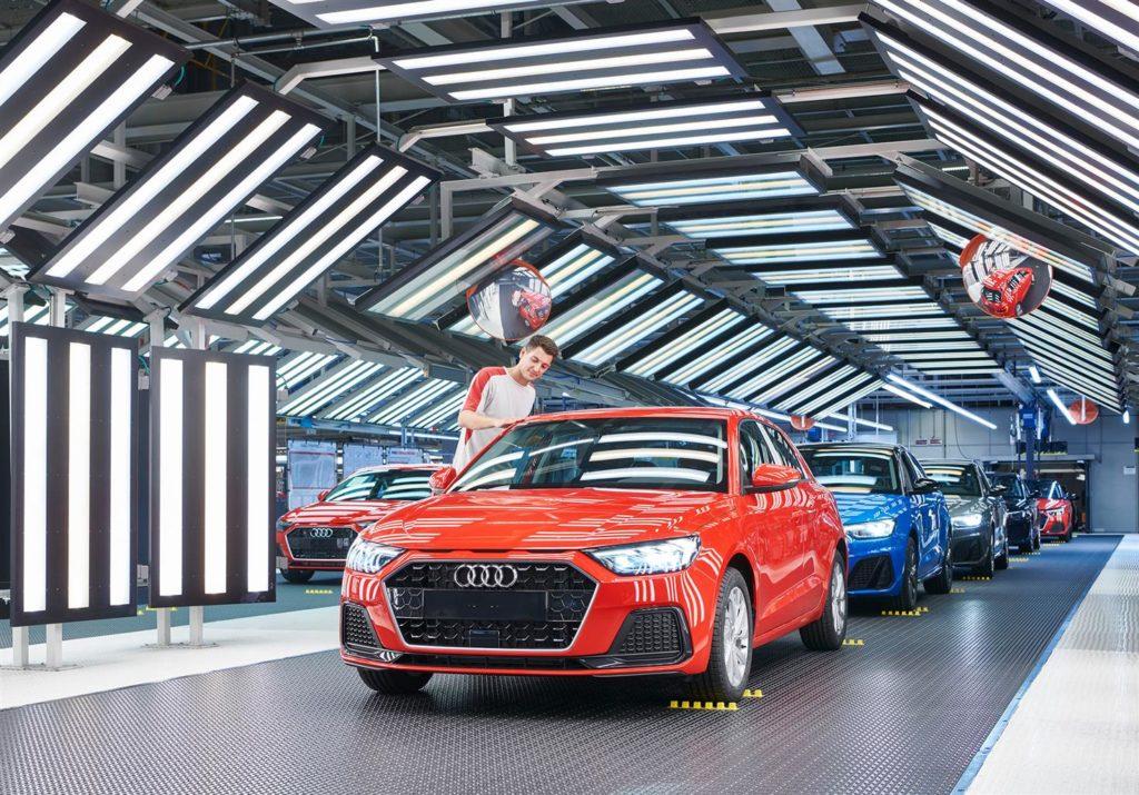 Audi A1 - Produzione a Martorell