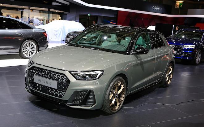 Audi A1 Sportback: la compatta si rinnova a Parigi [VIDEO LIVE]