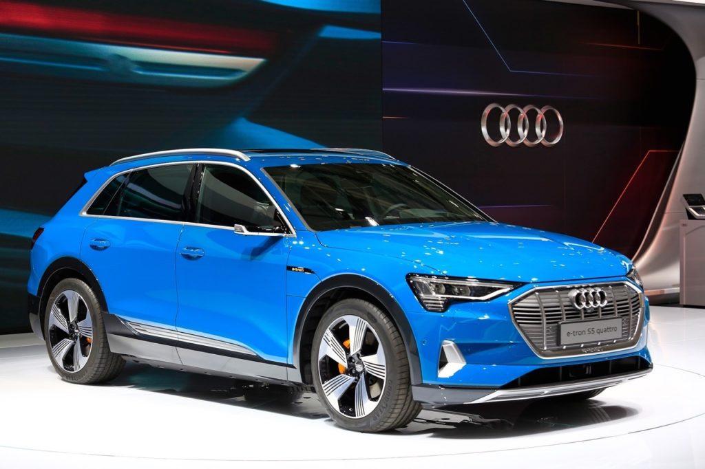 Audi e-tron - Salone di Parigi 2018