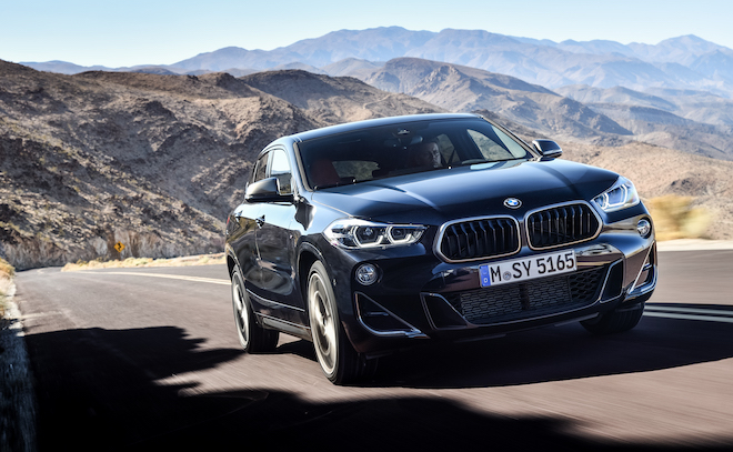BMW X2 M35i: la versione sportiva da 306 cavalli [VIDEO]
