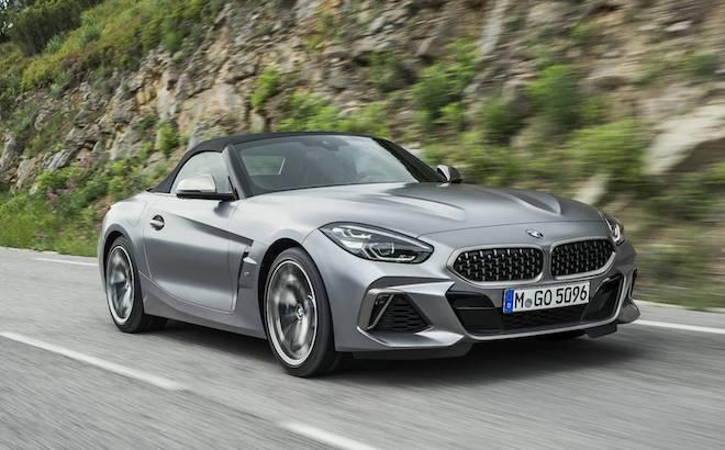 BMW Z4: la nuova roadster dell'Elica su strada [VIDEO]