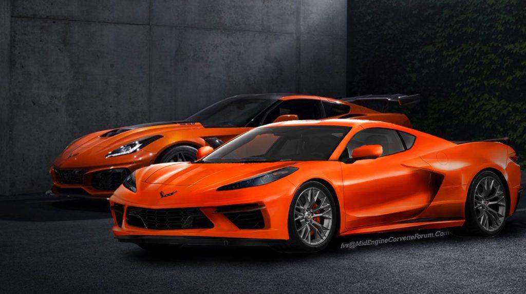 Chevrolet Corvette C8: nuova ipotesi stilistica [RENDERING]